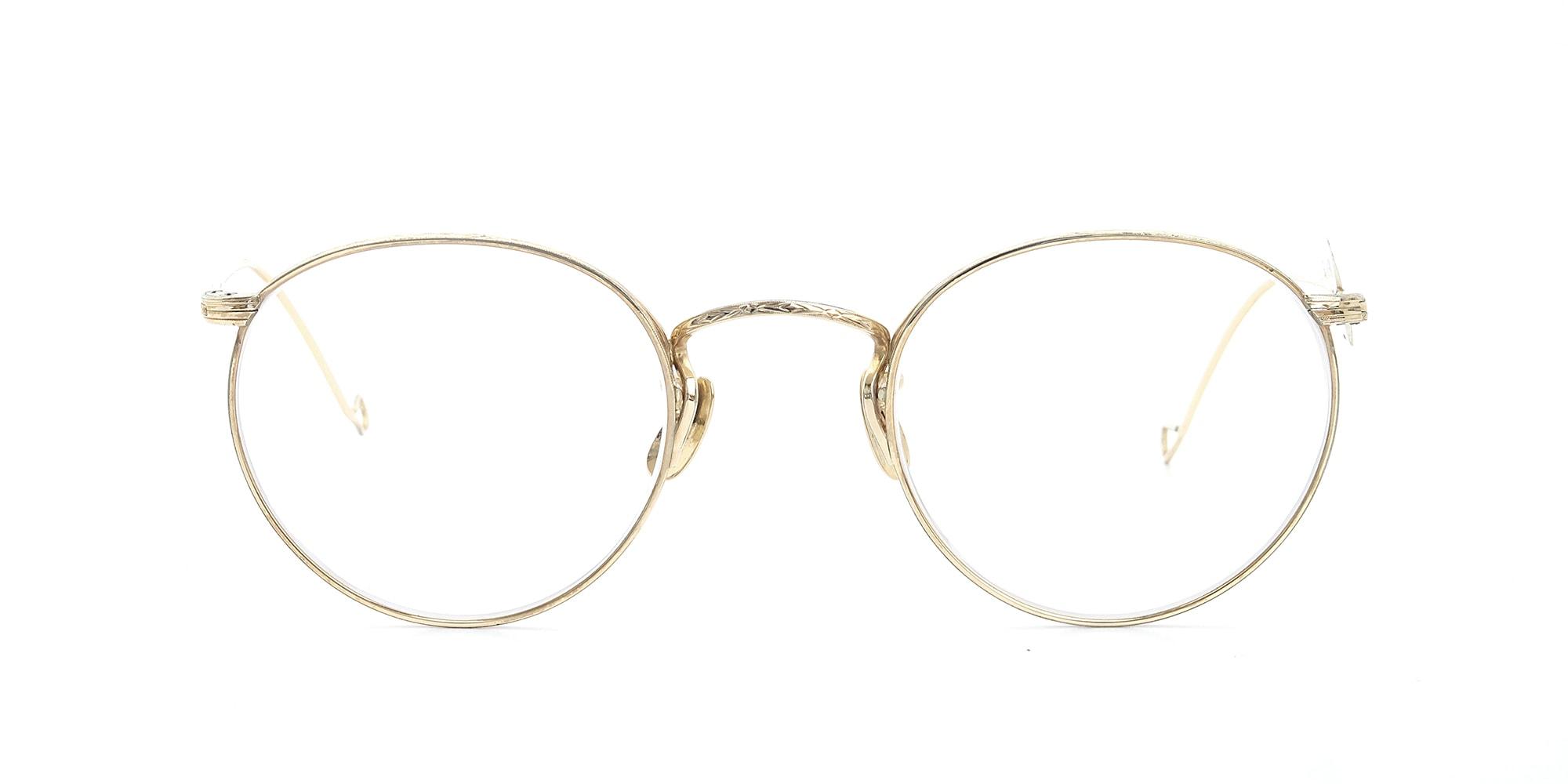 The Spectacle メガネ 1937 Artcraft Optical The-Artbit NOKOROD P-6 G 12kPads 46-22 イメージ3