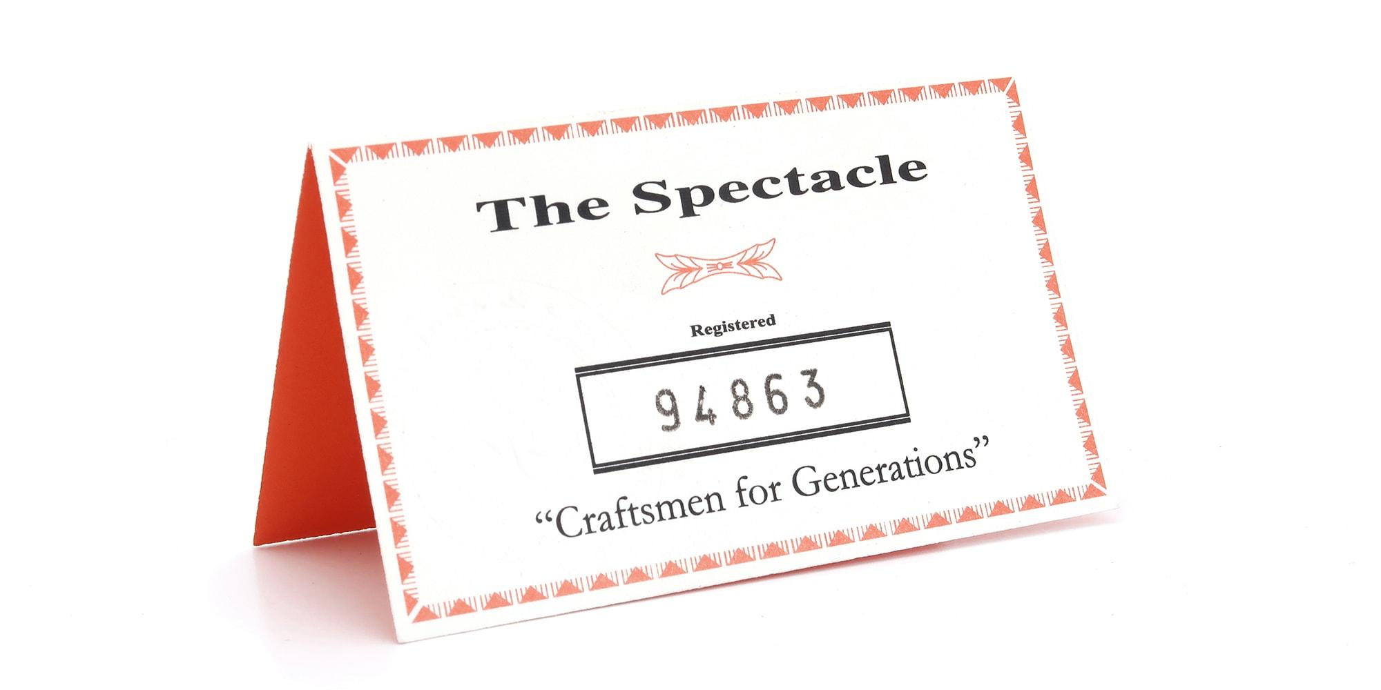 The Spectacle メガネ 1937 Artcraft Optical The-Artbit NOKOROD P-6 G 12kPads 46-22 イメージ8