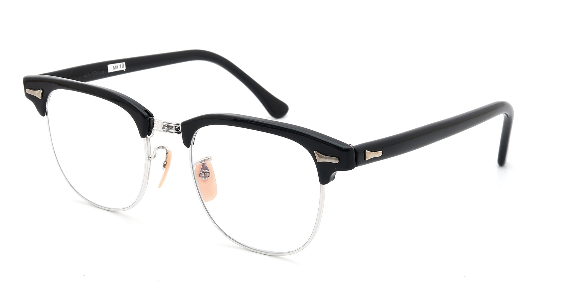 The Spectacle メガネ 1950s-60s Artcraft Optical Combination Black/WG 48-20 イメージ2