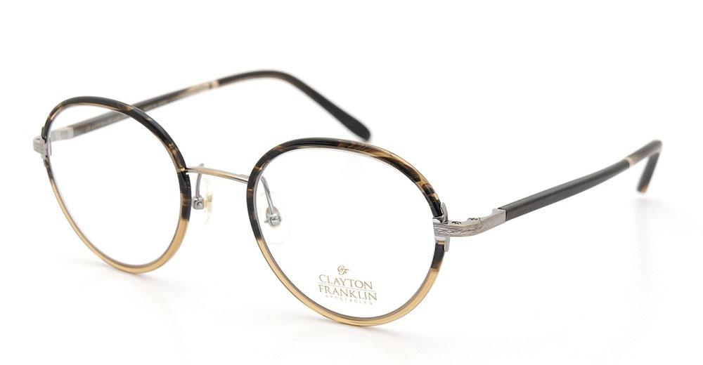 CLAYTON FRANKLIN メガネ 618 HB