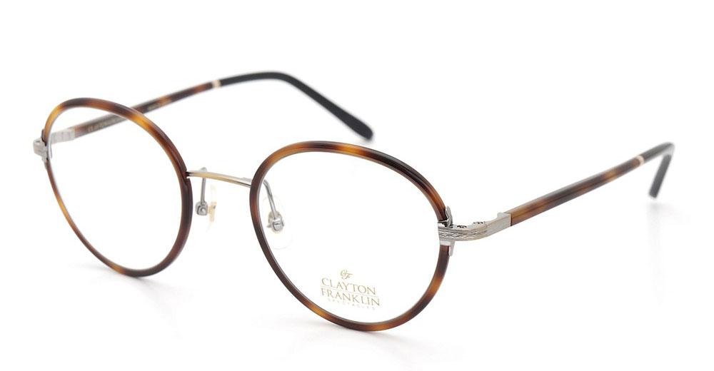 CLAYTON FRANKLIN メガネ 618 DM/BK