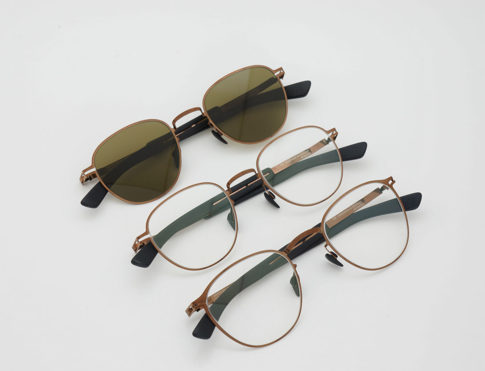 MYKITA HYBRID Shiny Copper