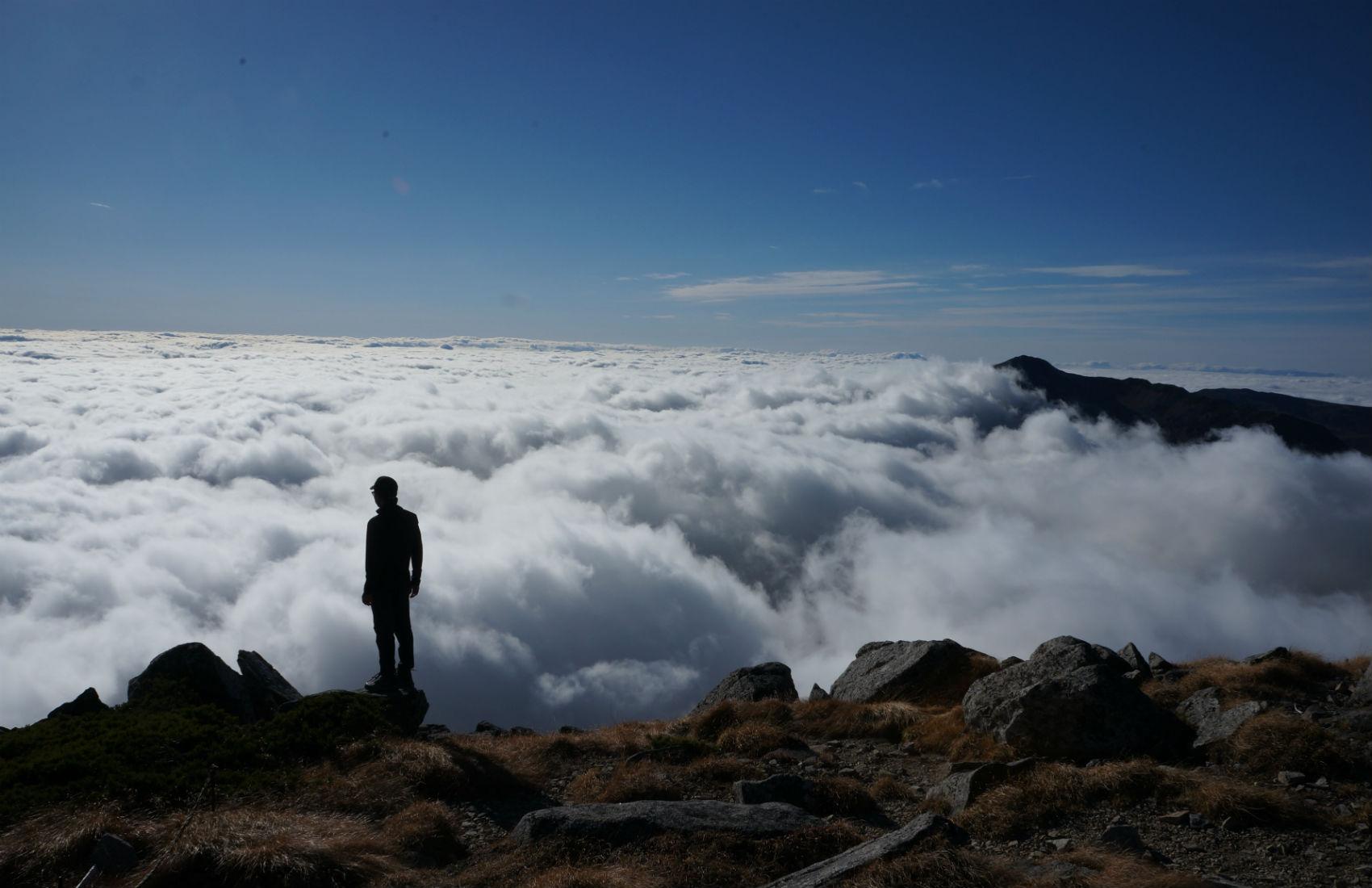 登山‐双六岳