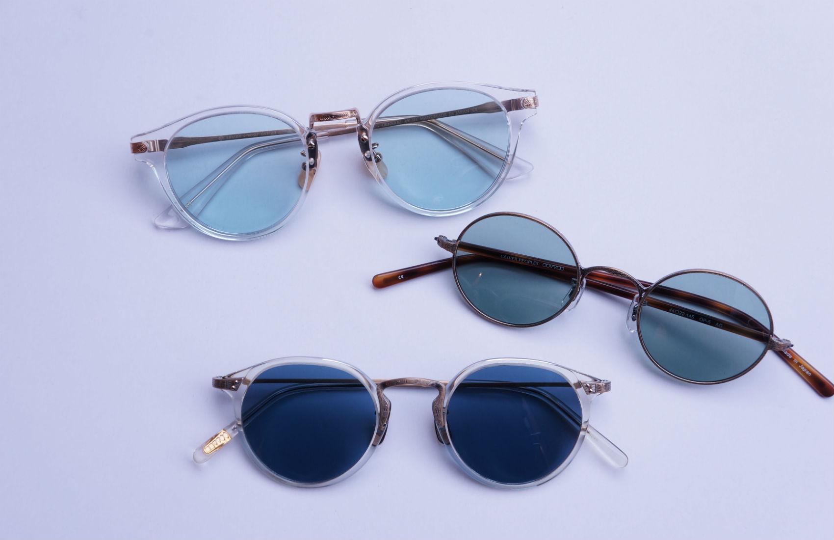 メガネをサングラスに仕立てる