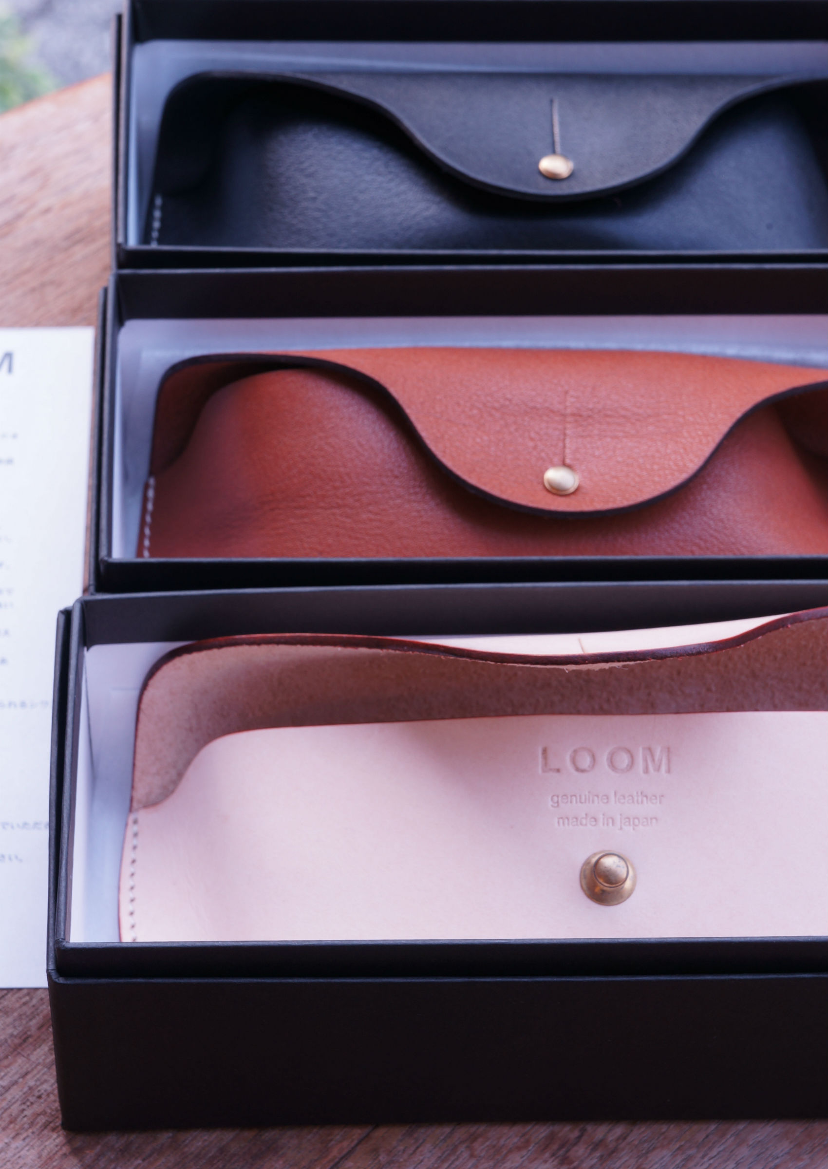 LOOM EYEWEAR leather CASE