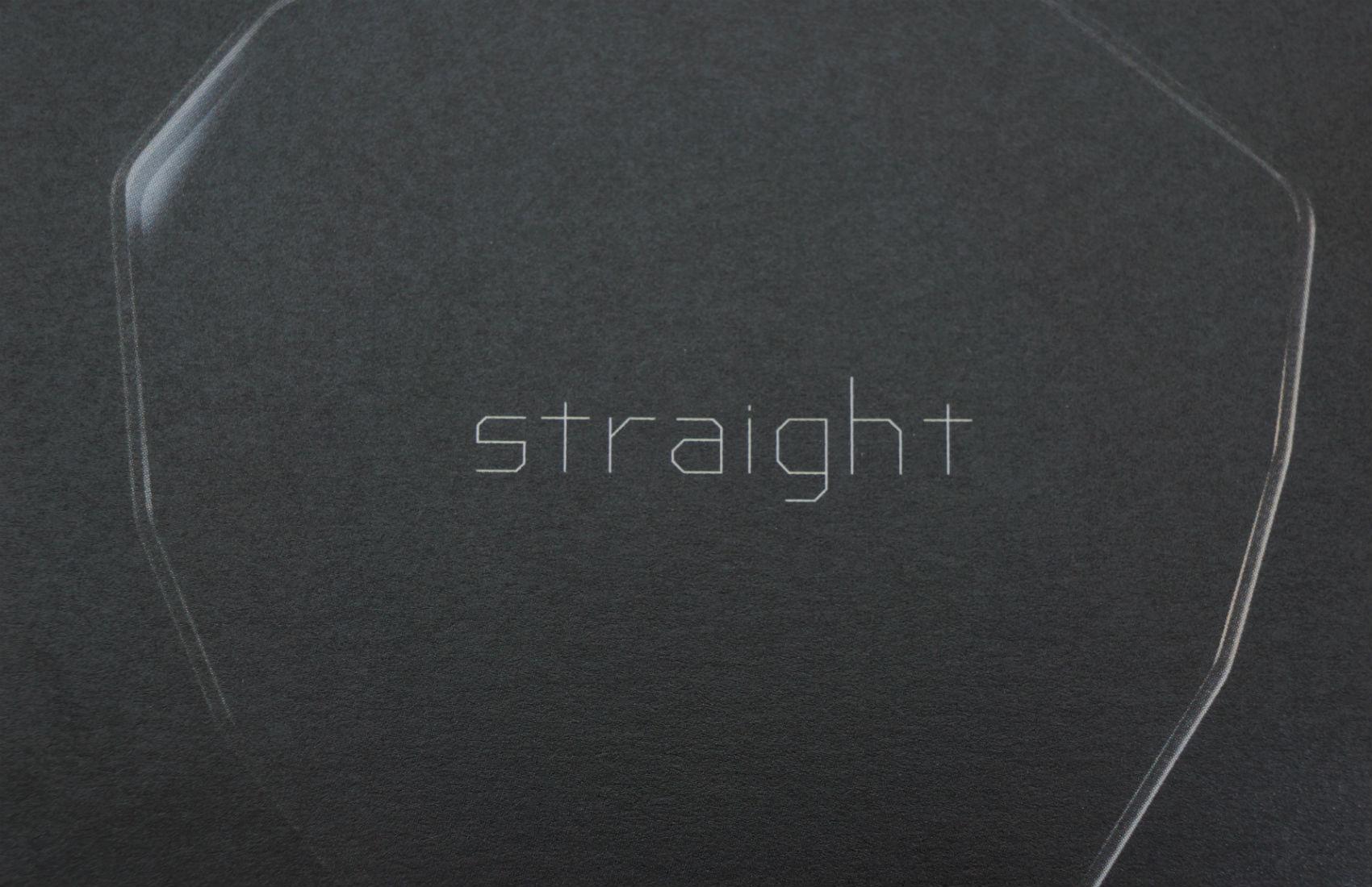 MASAHIROMARUYAMA straight