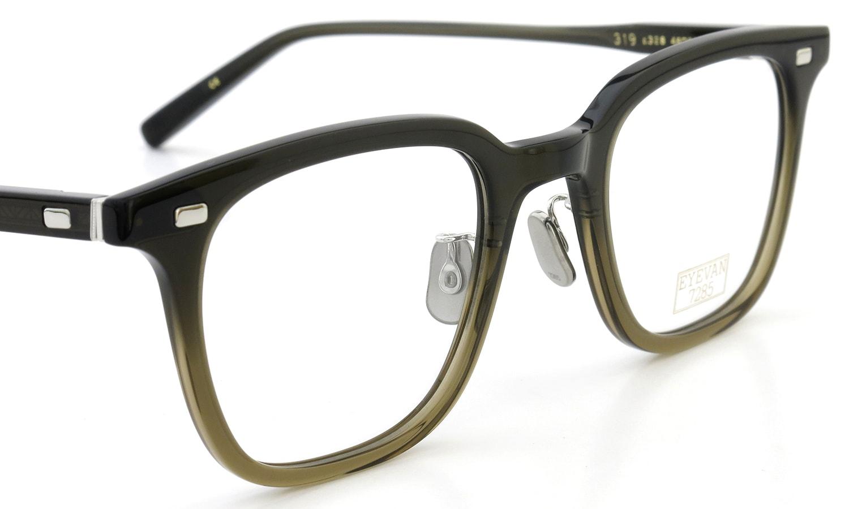 fc4b43f205e EYEVAN 7285 メガネ 319 C.328 ポンメガネ