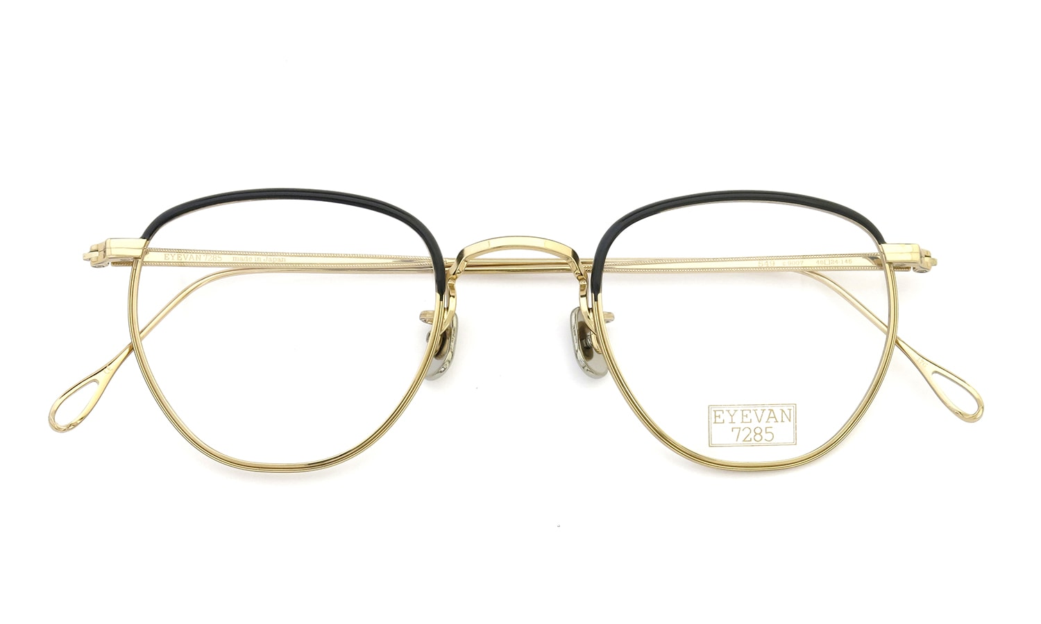 EYEVAN 7285 549 9007 BLACK/EYEVAN GOLD 4