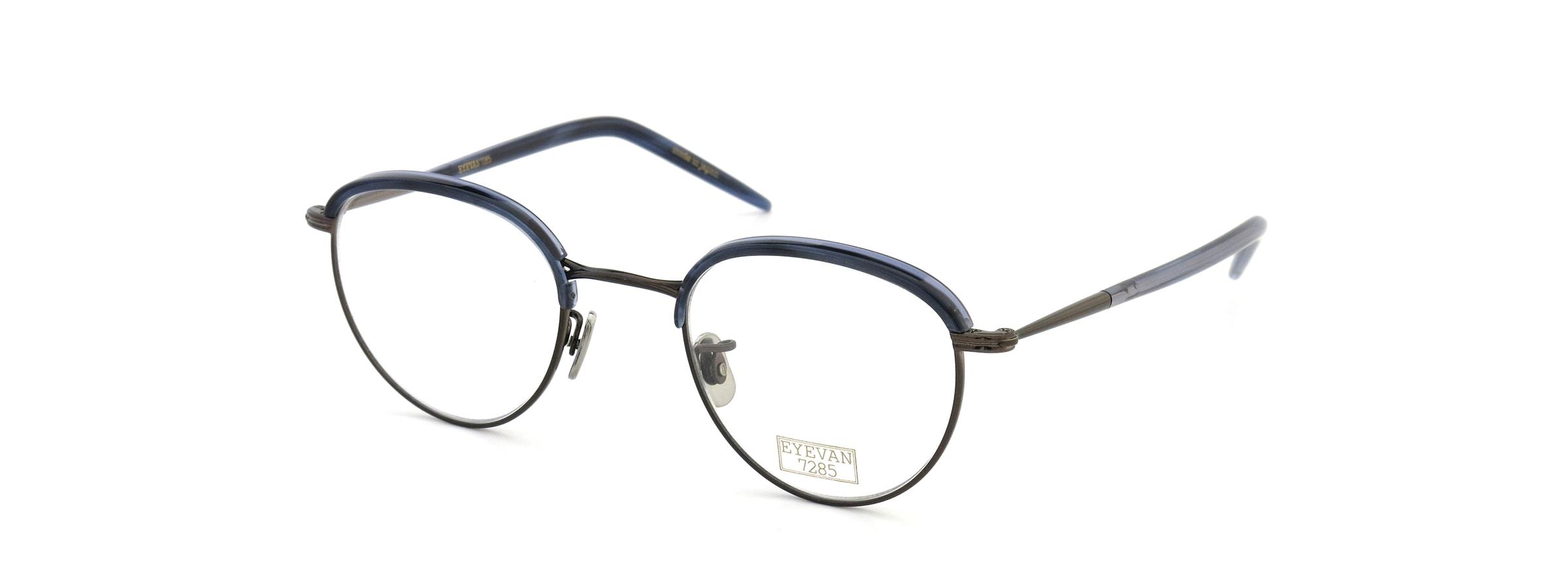 EYEVAN 7285 550 2023 NAVY-BLUE/BROWN