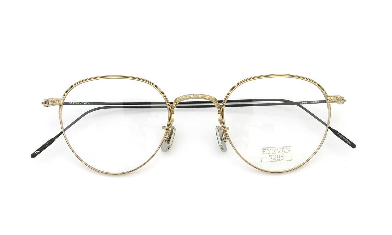 EYEVAN 7285 146 9007  EYEVAN GOLD/BLACK 4