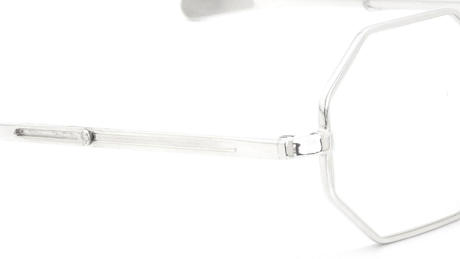 GERNOT LINDNER GL150 mod.158 Medium-Bridge Adjustable SN-X (Silver without coating) 5