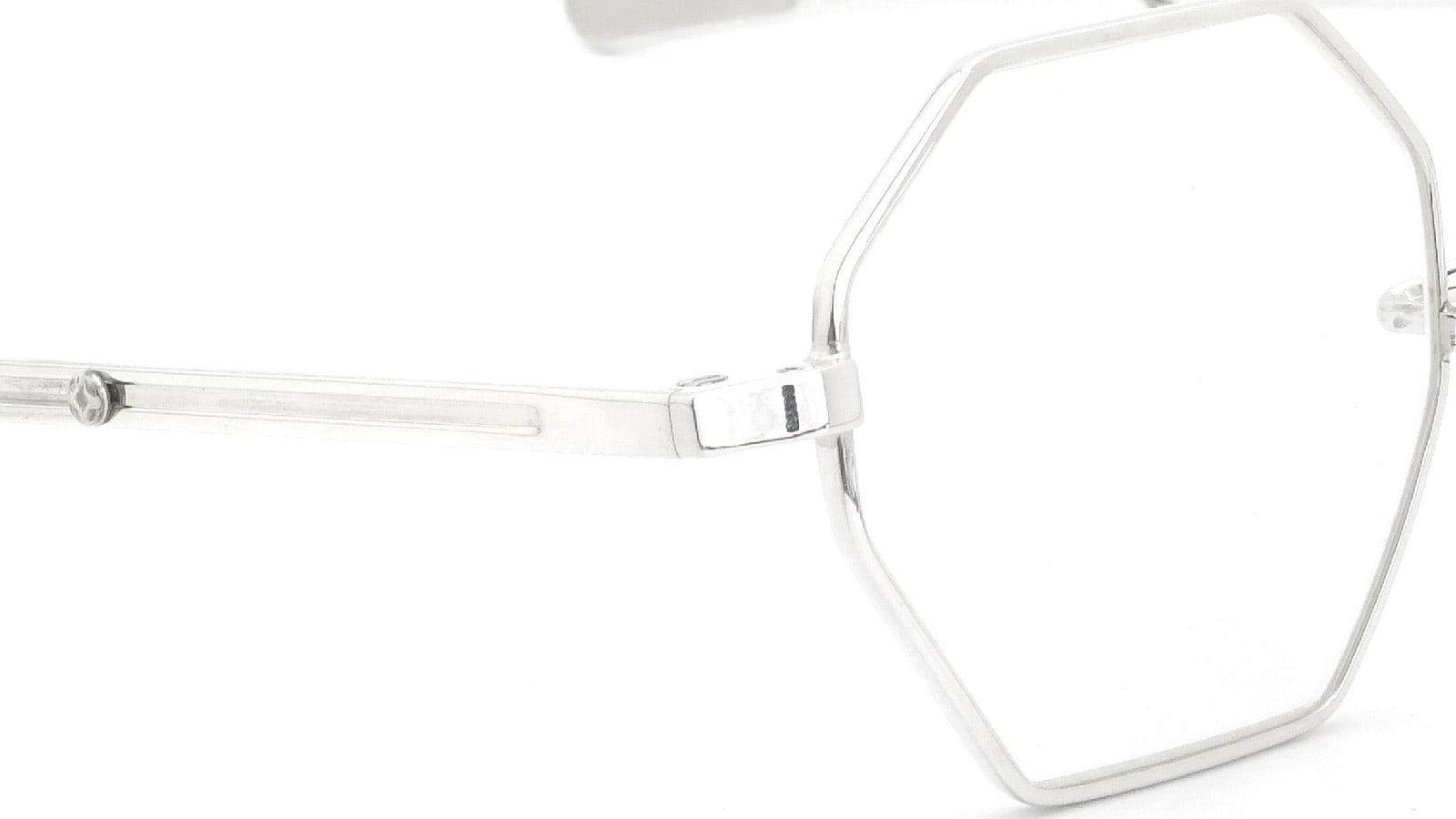 GERNOT LINDNER GL150 mod.159 Medium-Bridge Adjustable SN-X (Silver without coating) 5