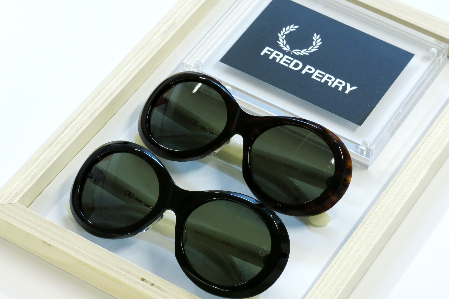 IMG_1388_FRED PERRY別注 Oliver Goldsmith /AUDREY