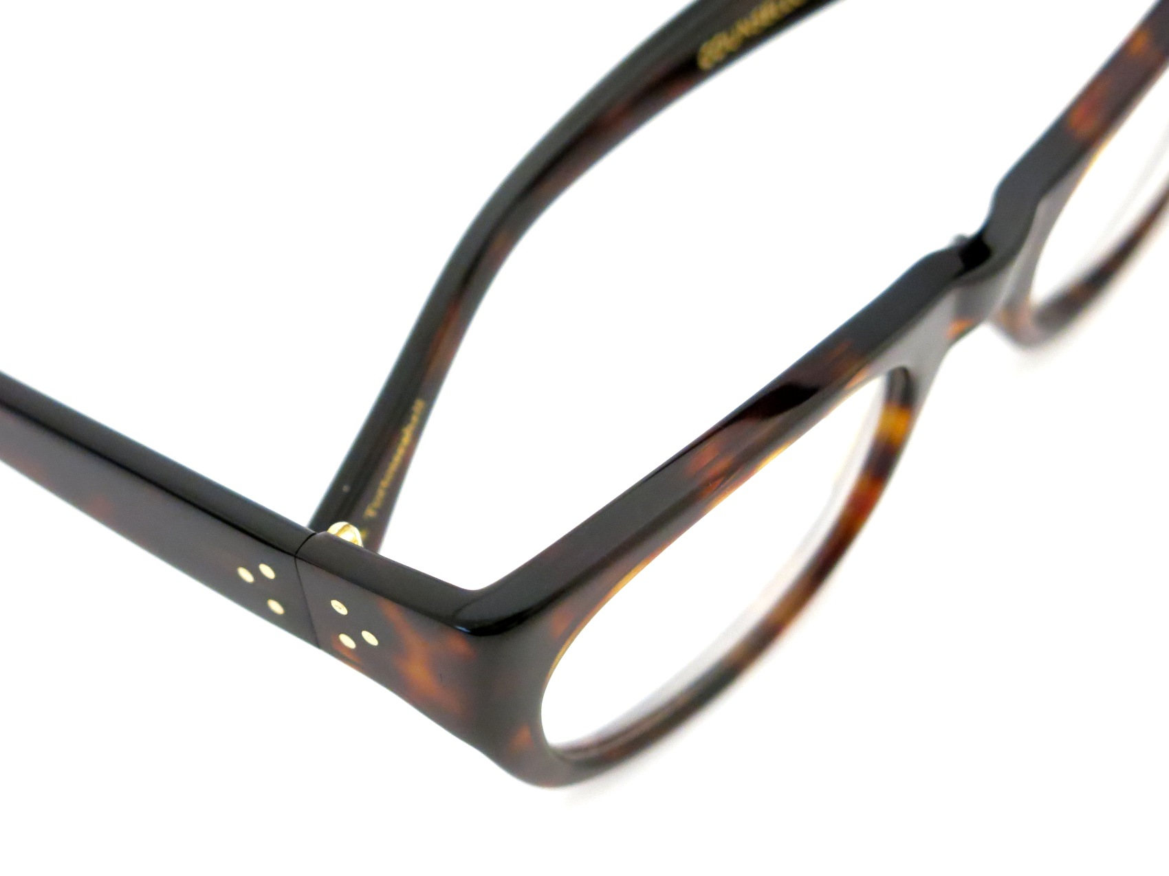 Oliver Goldsmith /  COUNSELLOR-51  Dark Tortoiseshell