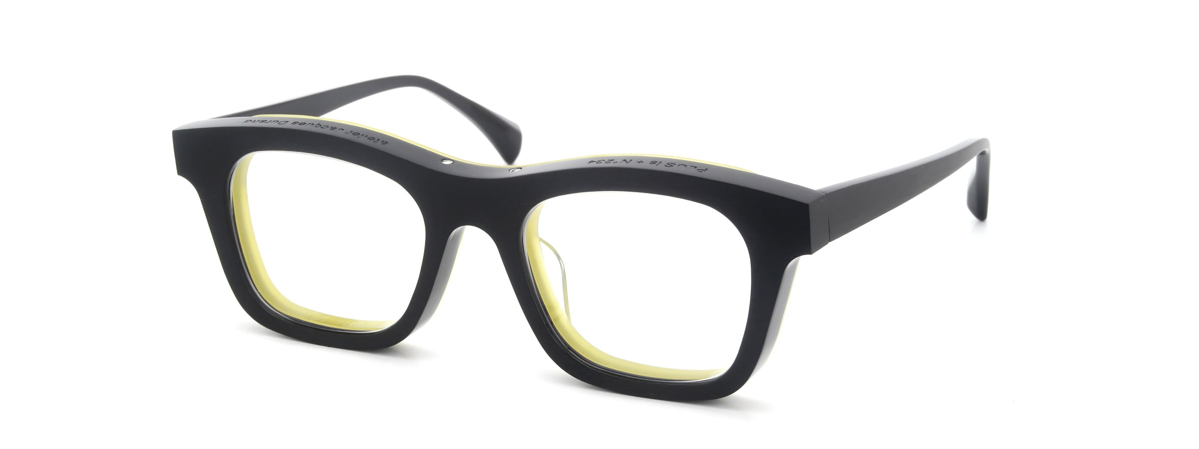 Jacques Durand Plus is + 234(INTRADOS) col.002 HM-black yellow全体像
