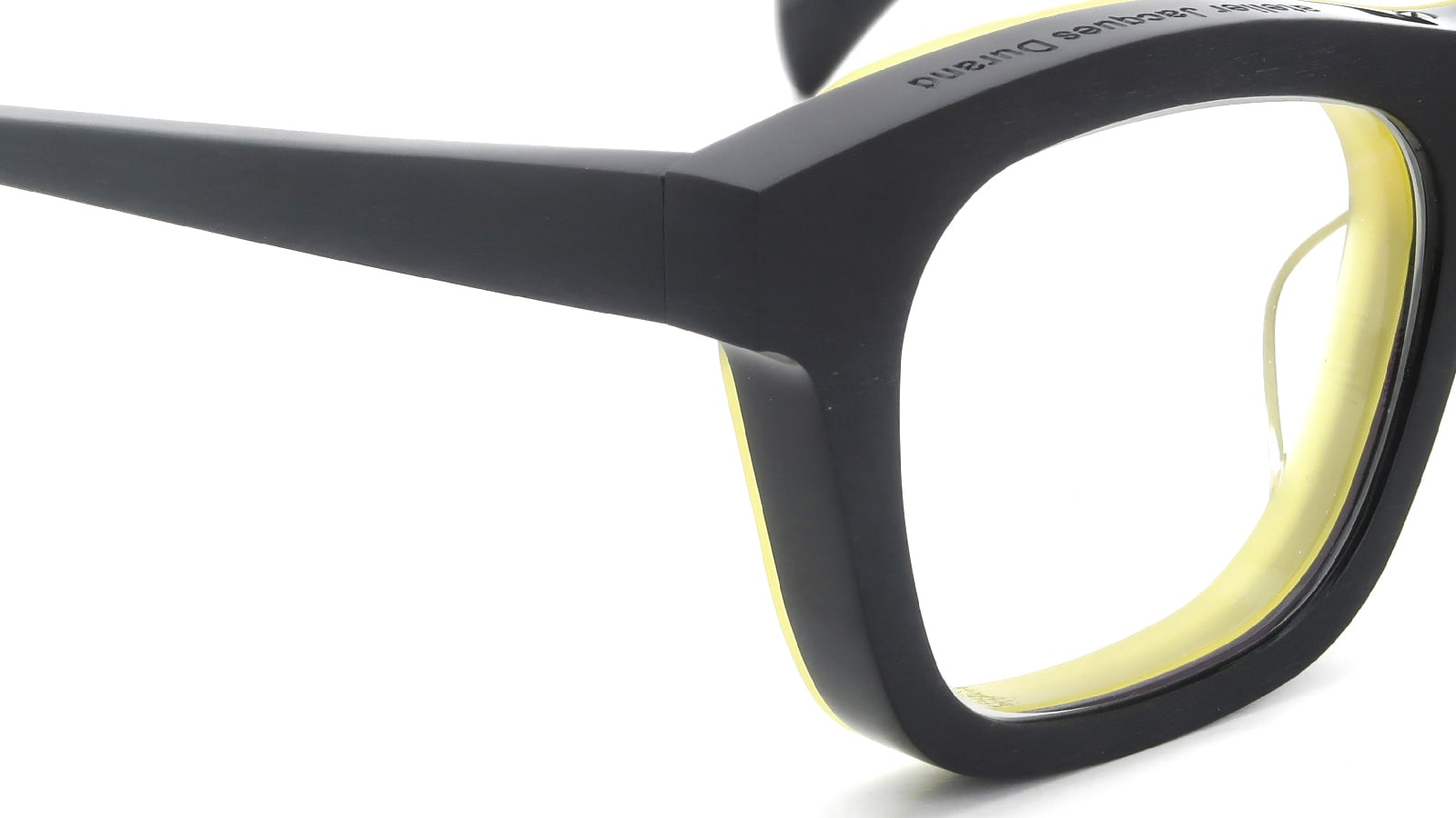 Jacques Durand Plus is + 234(INTRADOS) col.002 HM-black yellow ヒンジの詳細