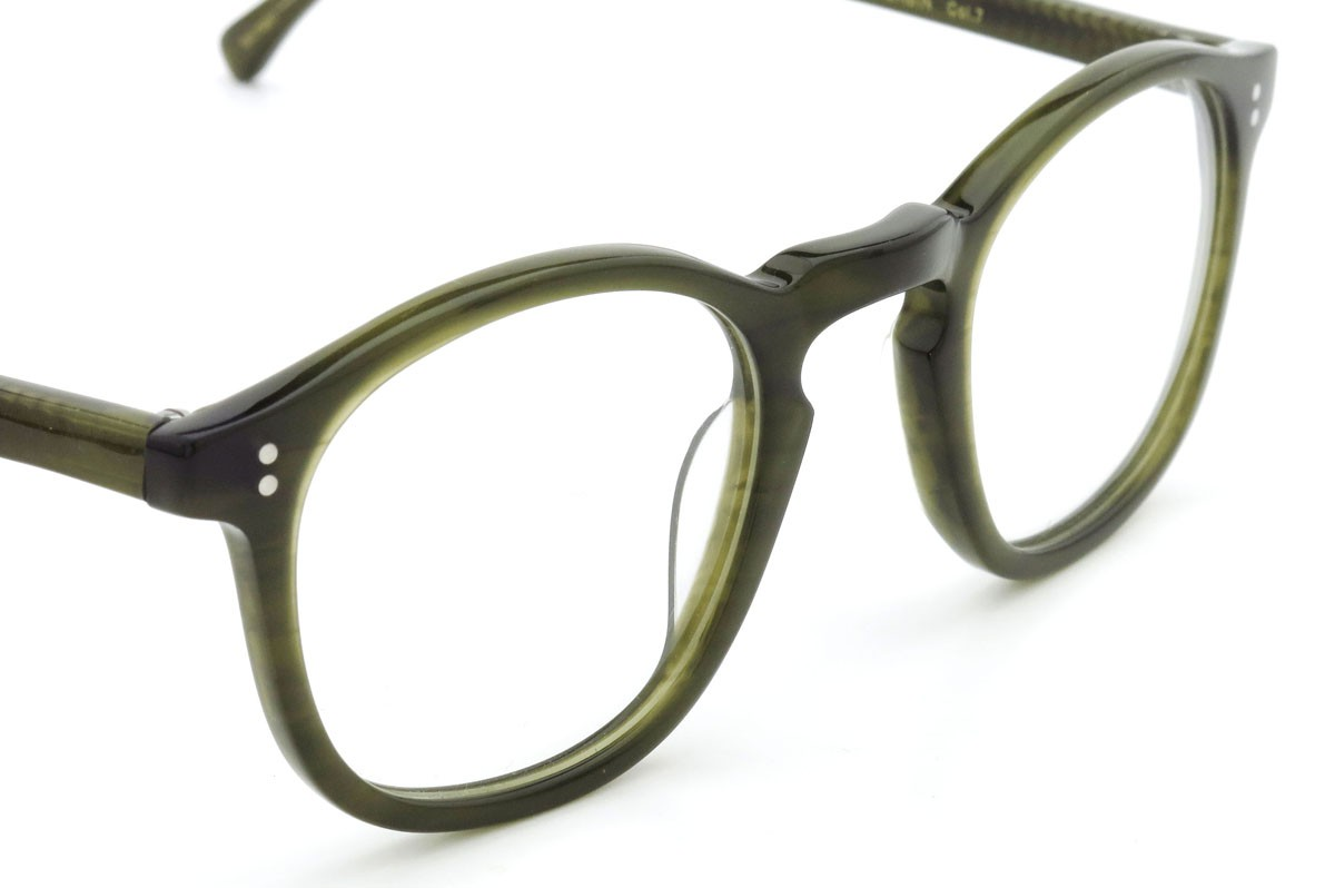 Lesca Lunetier mod.GABIN col.7 Dark-Green-Sasa/ダークグリーンササ 6