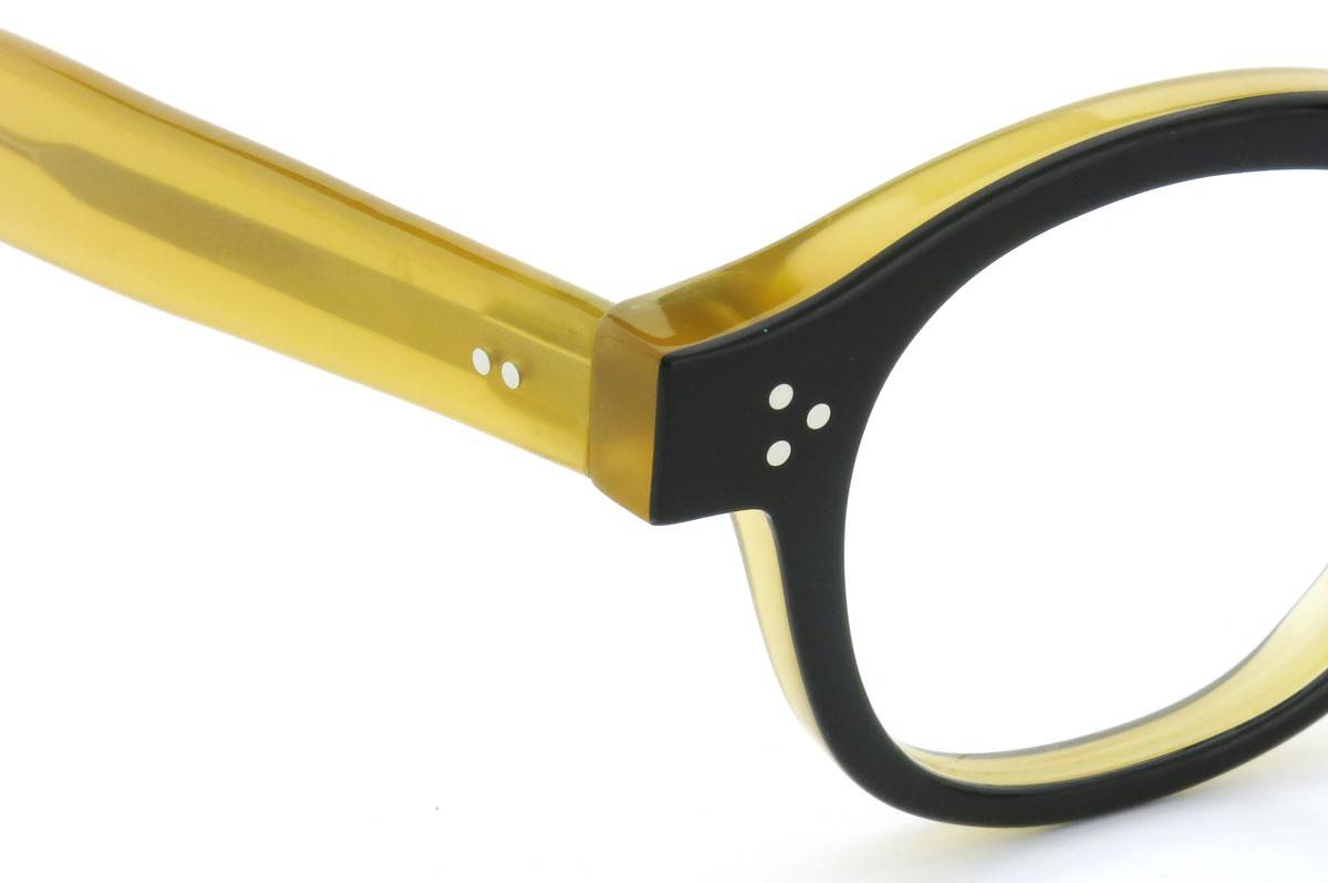 Lesca Lunetier mod.PO.80  col.240 Black/Yellow-clear 5