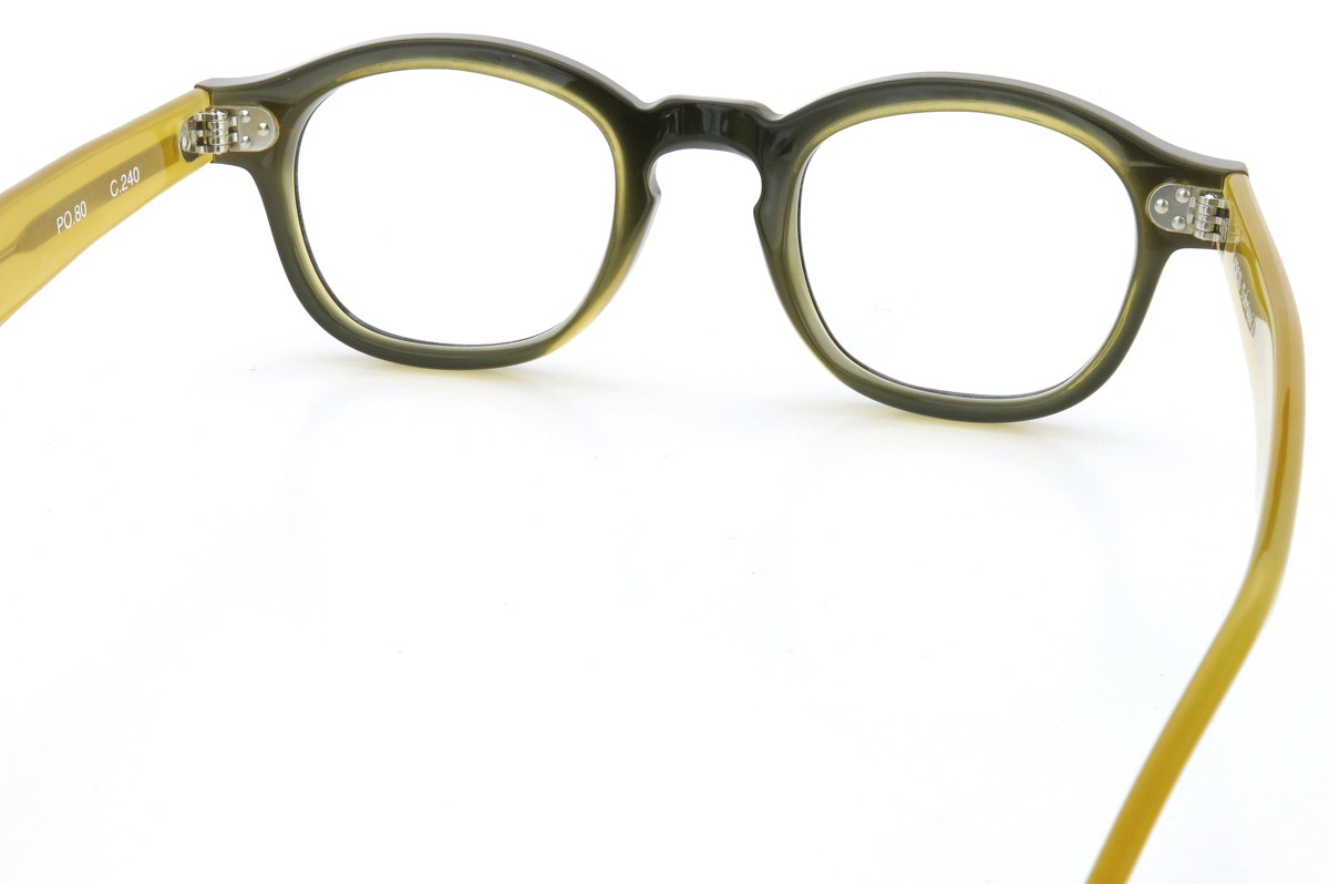 Lesca Lunetier mod.PO.80  col.240 Black/Yellow-clear 7