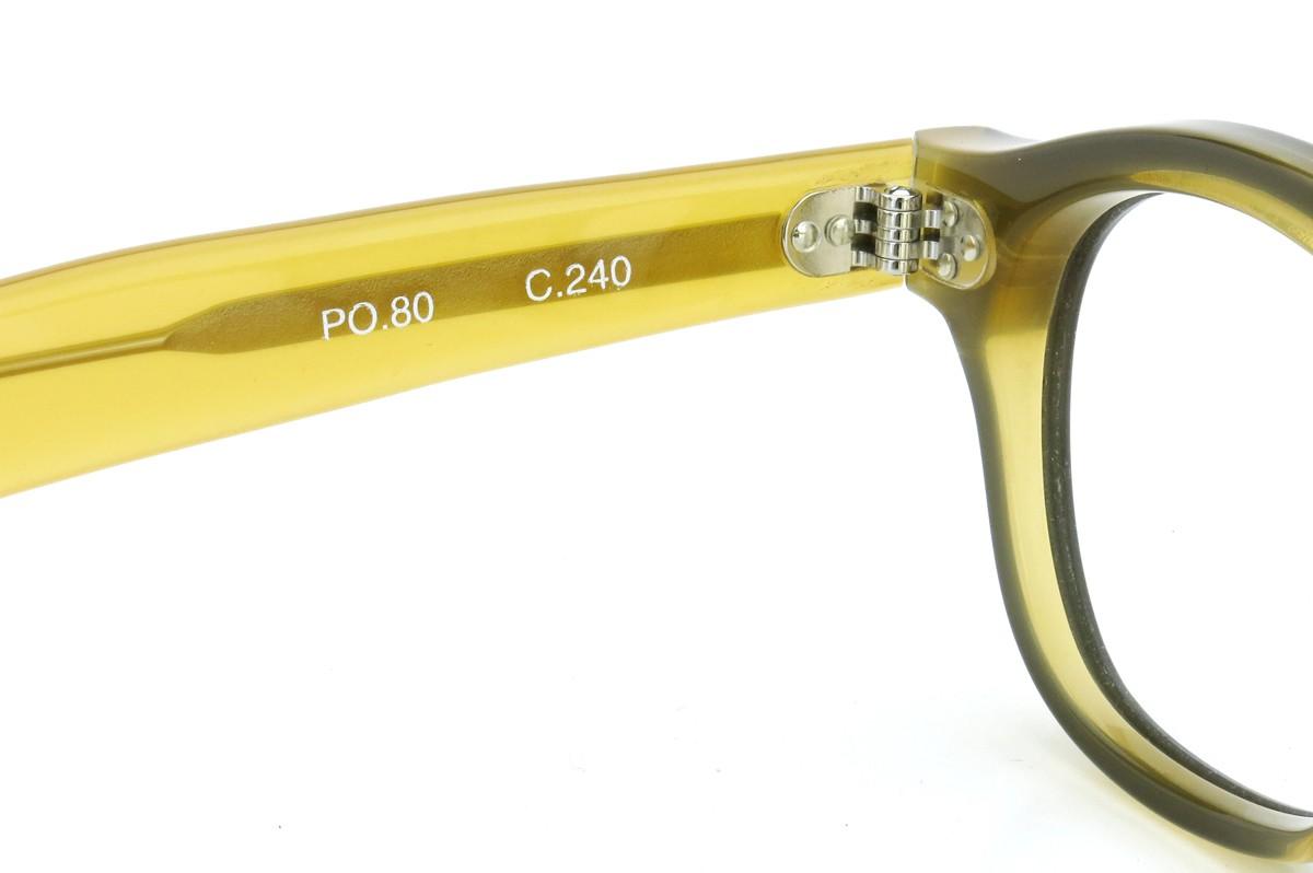 Lesca Lunetier mod.PO.80  col.240 Black/Yellow-clear 9