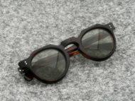 Lesca VINTAGE サングラス CROWN-PANTO 8mm Crystal-Brown (v16)