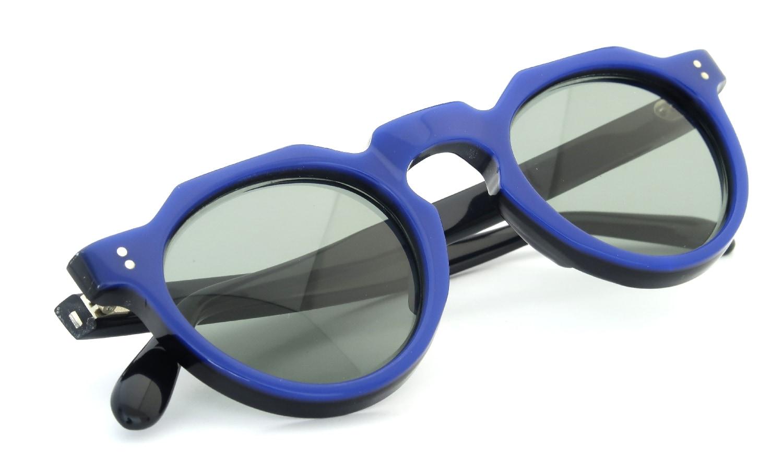 Lesca Vintage Crown-Panto Cobalt-Blue/Black 7mm (v1) 11