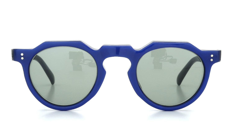 Lesca Vintage Crown-Panto Cobalt-Blue/Black 7mm (v1) 2