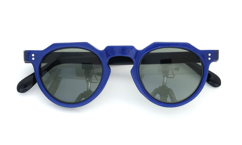 Lesca Vintage Crown-Panto Cobalt-Blue/Black 7mm (v1) 4