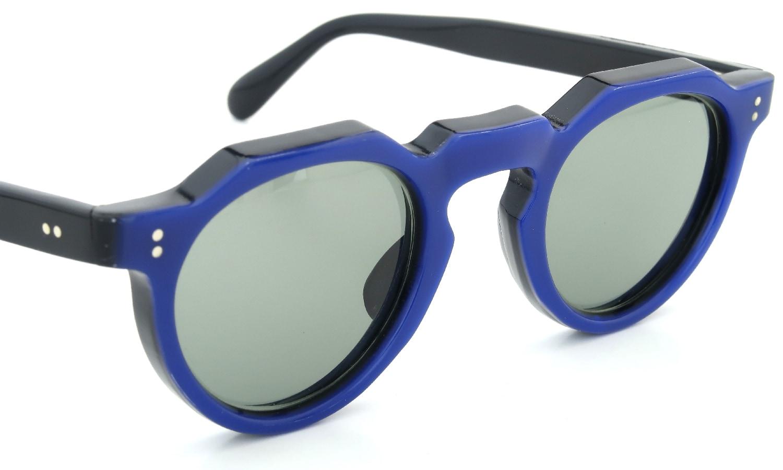 Lesca Vintage Crown-Panto Cobalt-Blue/Black 7mm (v1) 6
