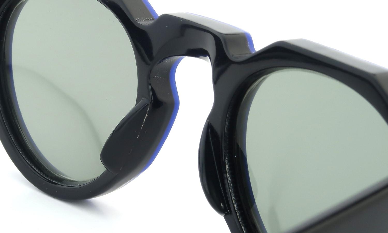 Lesca Vintage Crown-Panto Cobalt-Blue/Black 7mm (v1) 8