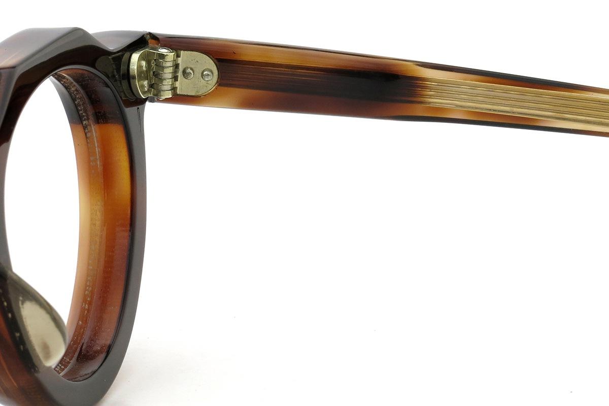 Lesca  Vintage Crown Panto type-A Crystal-Brown 8mm (v6) 11