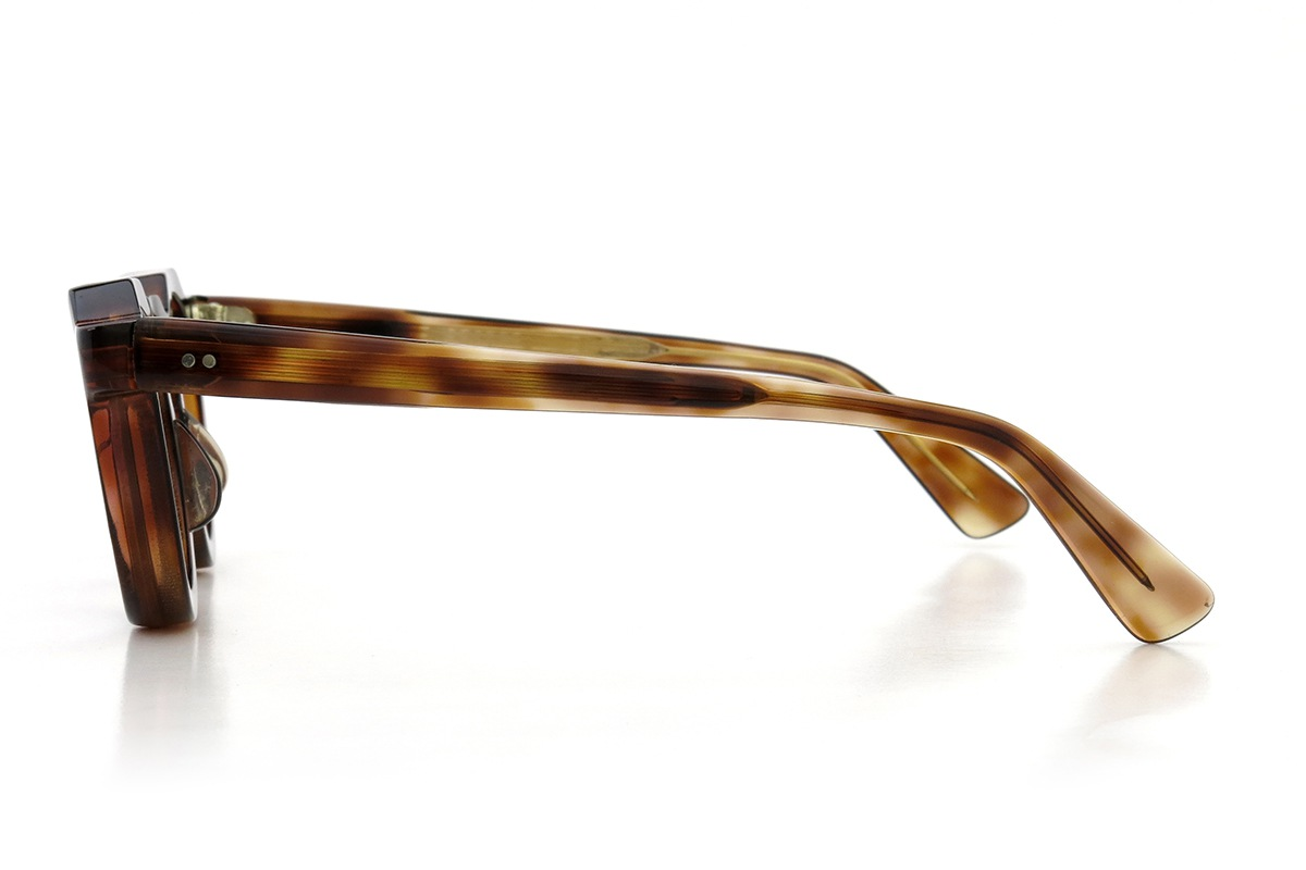 Lesca  Vintage Crown Panto type-A Crystal-Brown 8mm (v6) 3