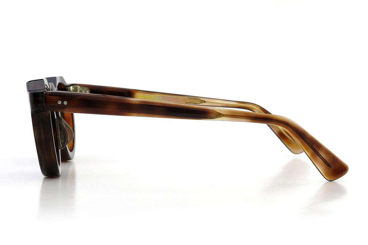 Lesca  Vintage Crown Panto type-A Crystal-Brown 8mm (v7) 3