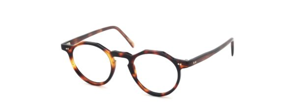 Lesca レスカ Vintage Crown-Panto type-A 4mm Dark-Tortoise (v1)