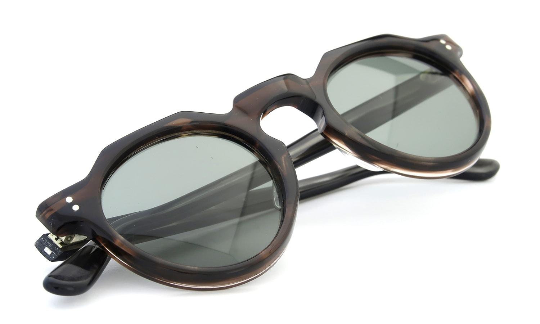 Lesca Vintage Crown-Panto type-A Brown-sasa/Grey-sasa 6mm (v3) 12