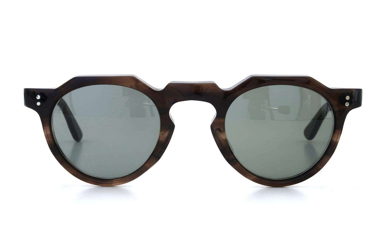Lesca Vintage Crown-Panto type-A Brown-sasa/Grey-sasa 6mm (v3) 2