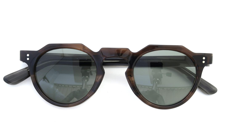 Lesca Vintage Crown-Panto type-A Brown-sasa/Grey-sasa 6mm (v3) 4