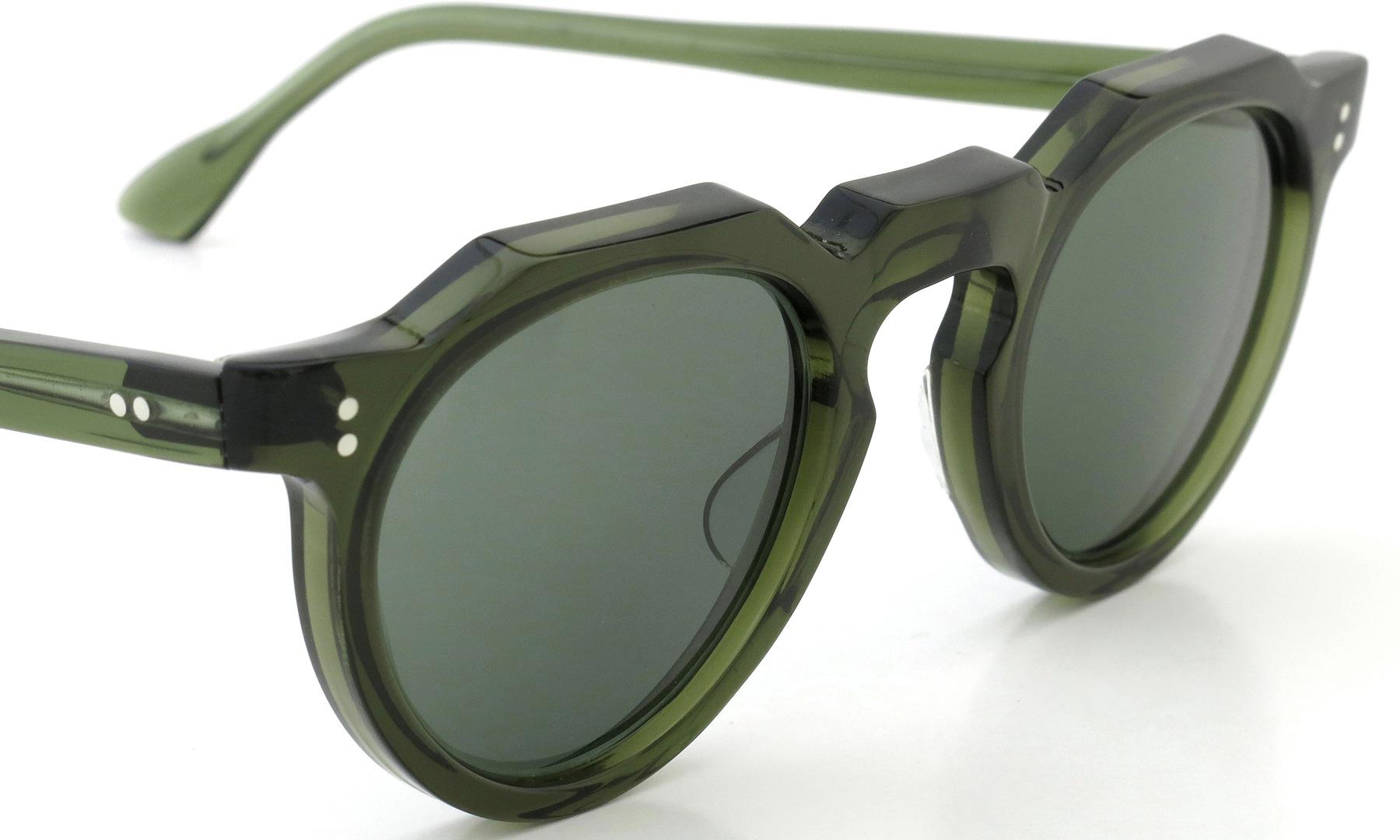Lesca Vintage Crown-Panto type-A Green 6mm (v5) 6