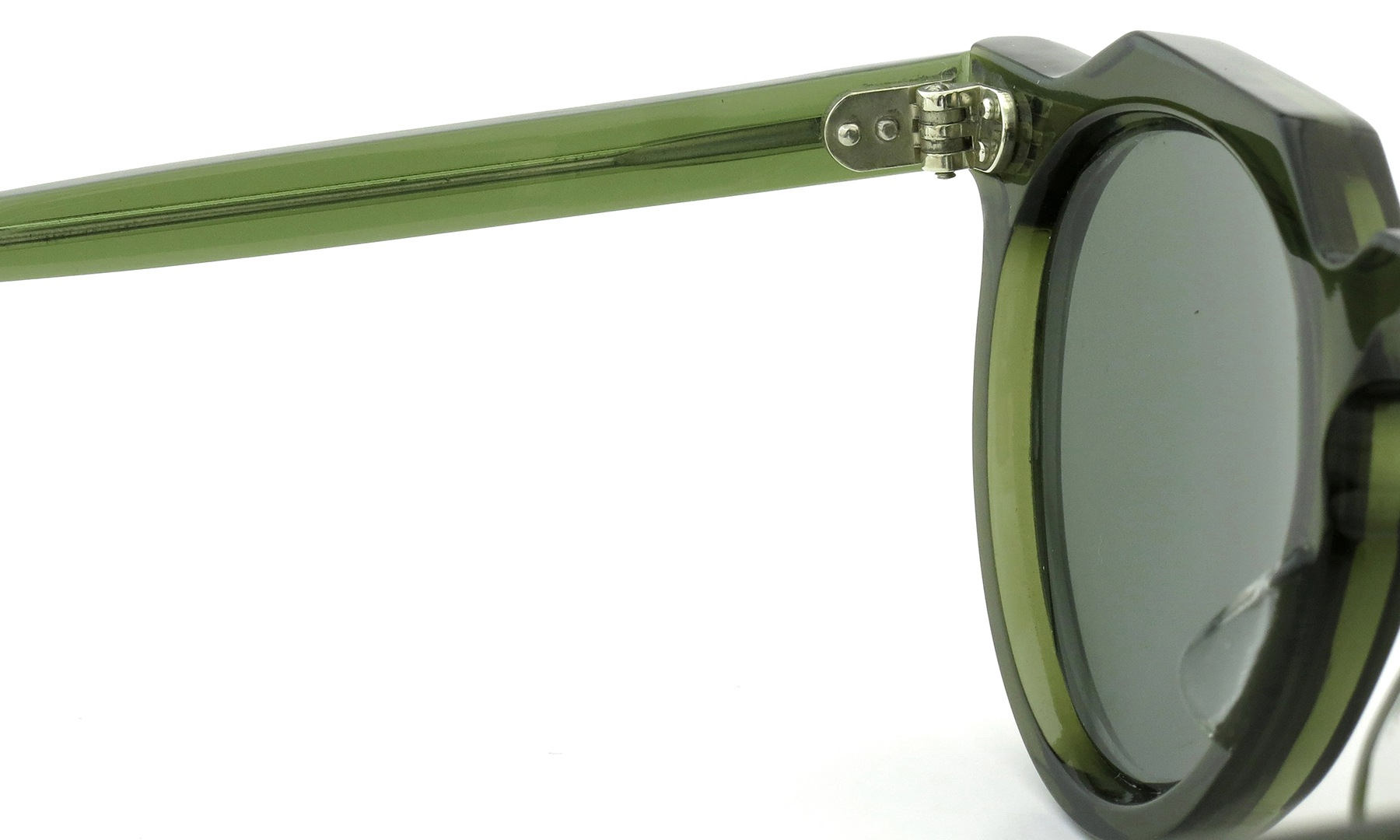Lesca Vintage Crown-Panto type-A Green 6mm (v5) 9