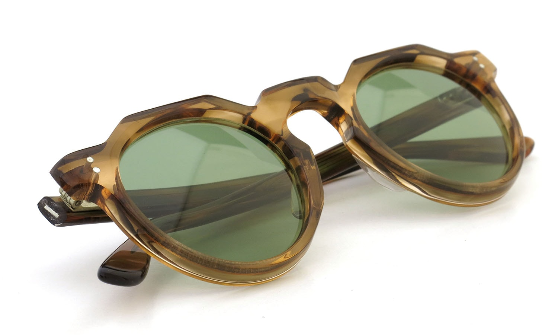 Lesca  Vintage Crown-Panto type-A Light-Brown-Marble 6mm (v1) 13