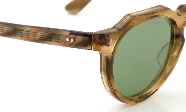 Lesca  Vintage Crown-Panto type-A Light-Brown-Marble 6mm (v1) 5