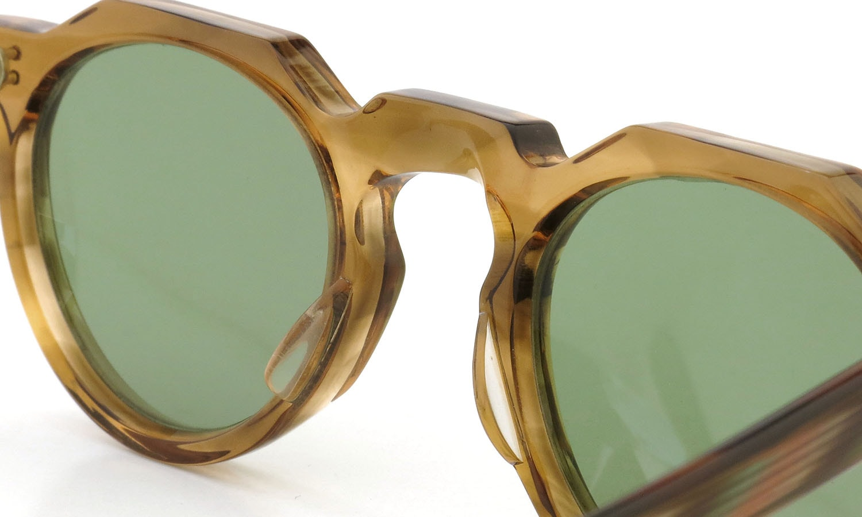 Lesca  Vintage Crown-Panto type-A Light-Brown-Marble 6mm (v1) 8