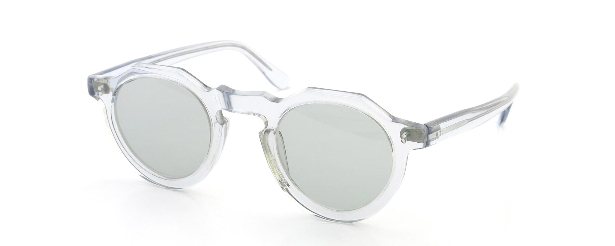 Lesca vintage Crown-Panto type-B 4mm Light-Grey-Crystal (v4)