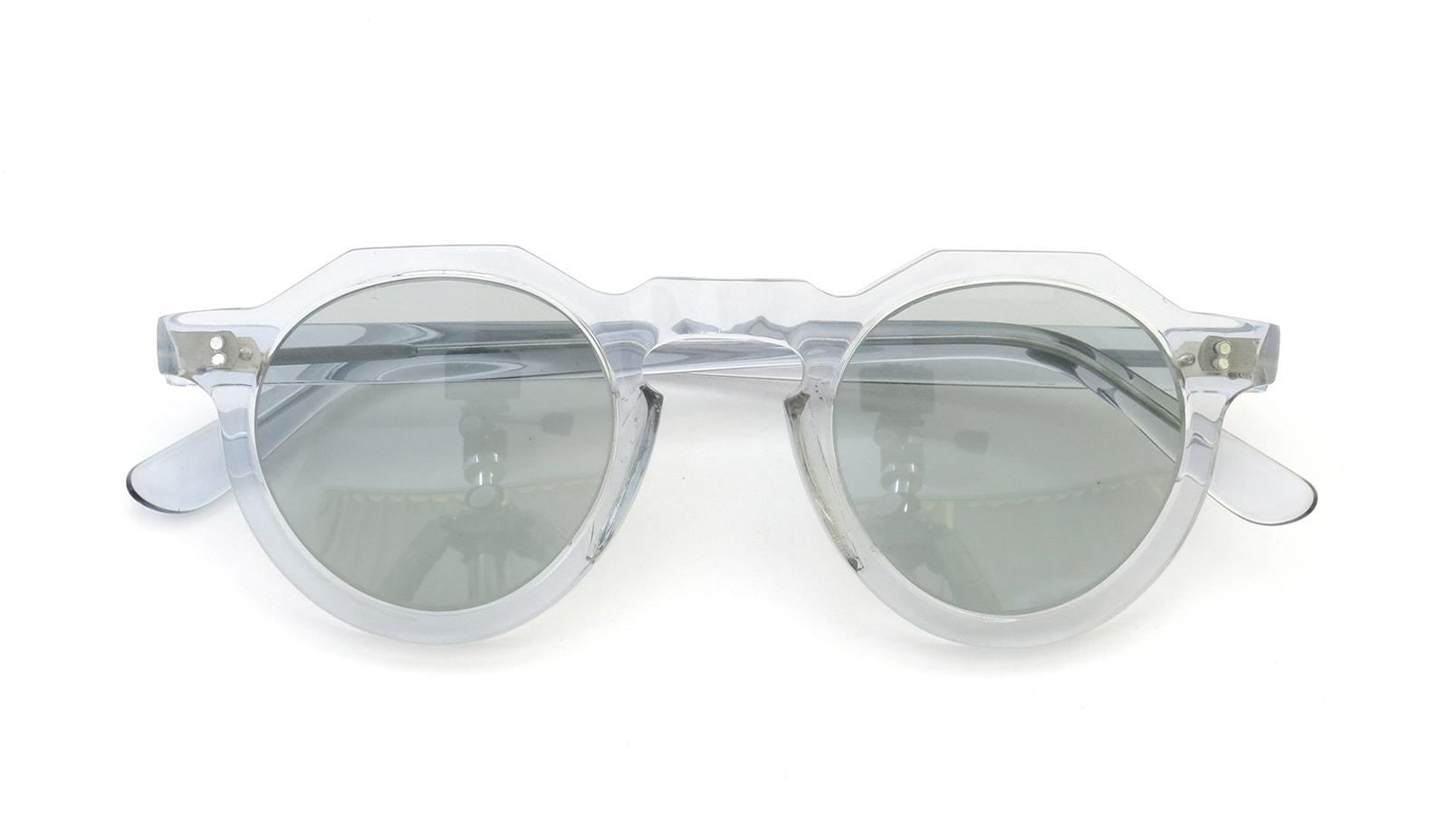 Lesca vintage Crown-Panto type-B 4mm Light-Grey-Crystal (v4) 4