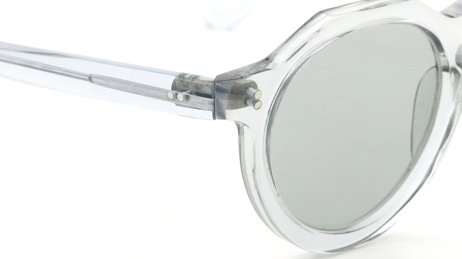 Lesca vintage Crown-Panto type-B 4mm Light-Grey-Crystal (v4) 5