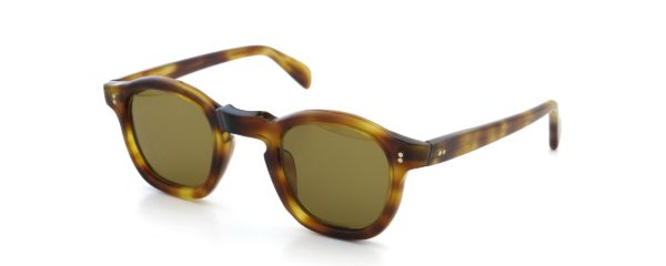 Lesca レスカ Vintage GABIN HAVANA 6mm (v2) Light-Brownlense