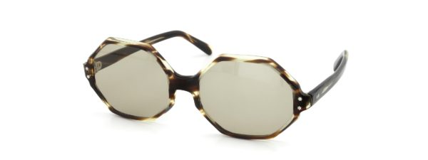 Lesca レスカ VINTAGE L-Octagon Leopard 4mm (v1) Light-Brown-Lens