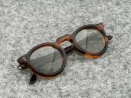 Lesca VINTAGE サングラス PANTO 8mm Brown-Sasa (v4)