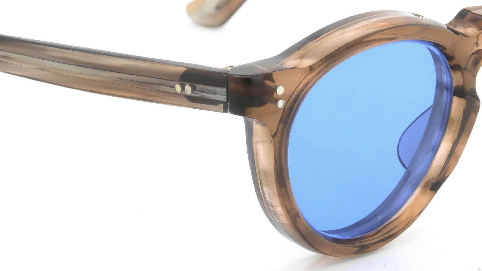 Lesca VINTAGE Panto Ash-Brown 8mm (v1) 5