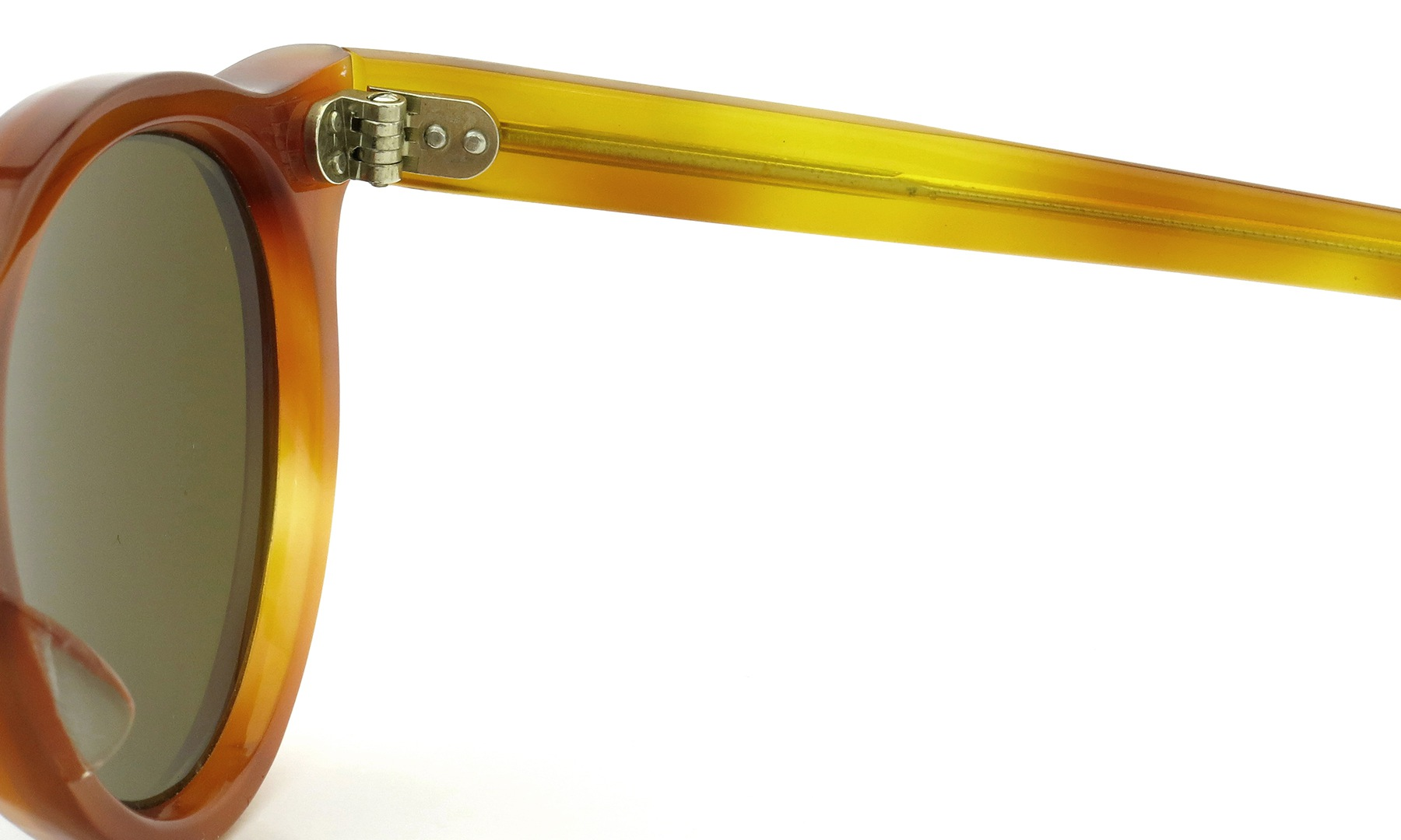 Lesca Vintage Panto Light-Demi 6mm (v2) Brown-lense 11